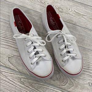 Keds White Sneakers - sz 8